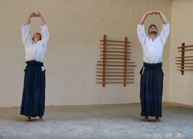 online aiki-taiso und -schwert